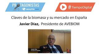 Claves de la biomasa y su mercado en España | Javier Díaz en Protagonistas Expobiomasa 2019
