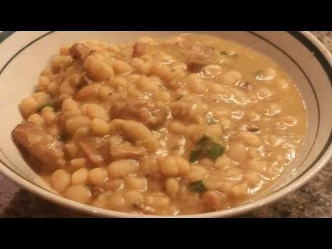 Cajun White Navy Beans