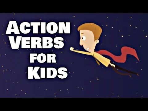 Action Verbs For Kids Language Arts Video Lesson - YouTube