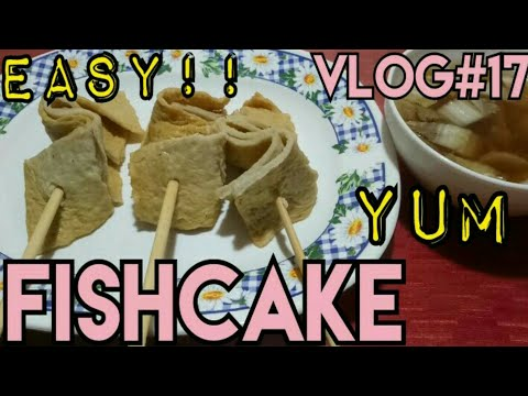 HOW TO COOK FISHCAKE (ODENG) | EASIEST WAY!! | BUDGET FRIENDLY | VLOG #17 | ABBY MENDOZA