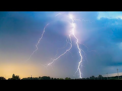 Evening Thunderstorms Of Siberia (August 17, 2019)