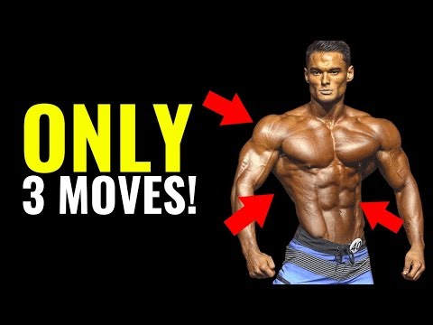How to Get a V-Taper Body (3 EXERCISES ONLY!)