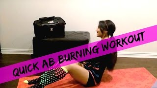 Core Tightening Abs Routine | Quick Ab Workout