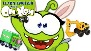 Build Construction Vehicles Street Vehicles for Kids | Learning Cartoon for Children by Om Nom