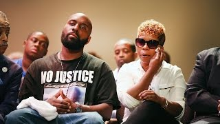Michael Brown's Father Calls for Calm