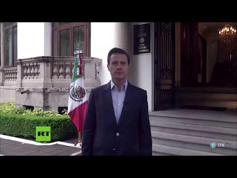 Peña Nieto celebra la elección de México como sede del Mundial 2026 junto con Canadá y EE.UU.