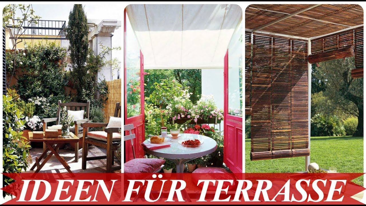 Dekoideen Terrasse deko ideen für terrasse