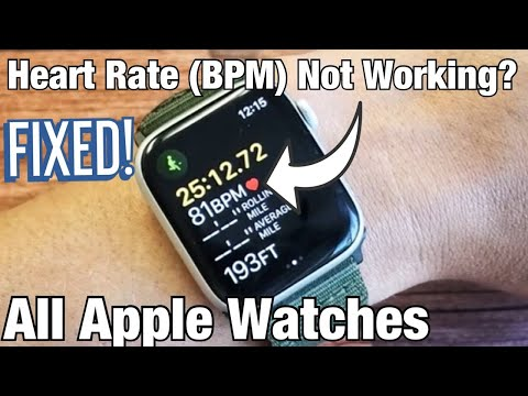 All Apple Watches: How To Fix Heart Rate (BPM) Not Working? FIXED!!!!