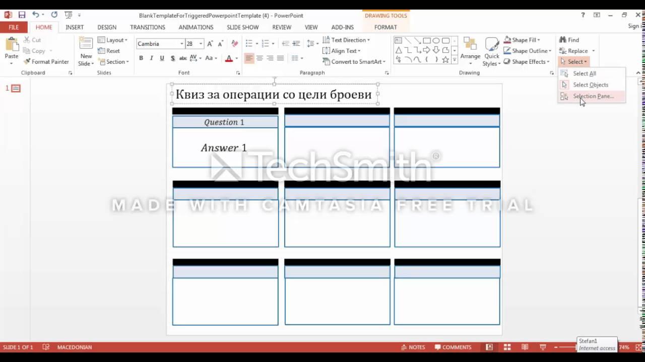quiz powerpoint templates