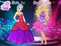 Elsa vs Barbie Fashion Contest - Juegos de Vestir - kids games