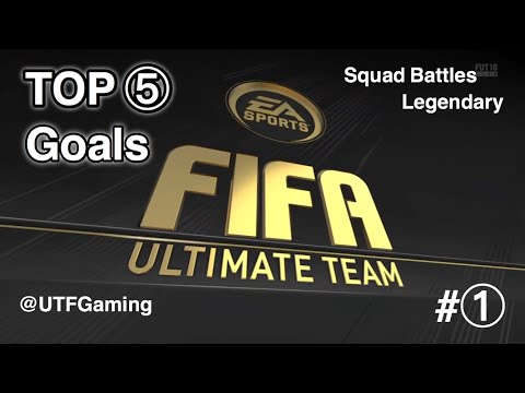 TOP  5 - FIFA18 Daily Squad Battle Goals #1