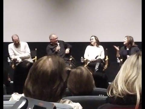 THE POST Q&A w/ Amy Pascal, Janusz Kaminski, Kristie Macosko Krieger, Drew Kunin - December 26, 2017