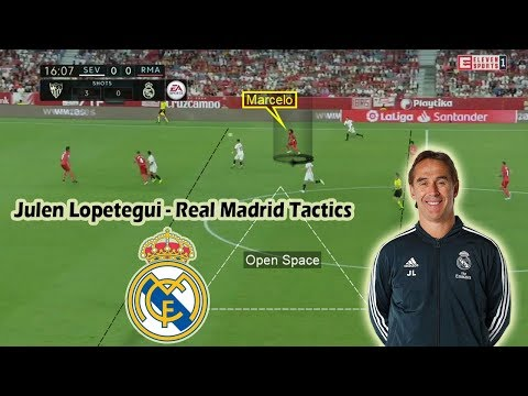 Julen Lopetegui at Real Madrid | Positives and Negatives | Tactical Analysis