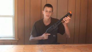 CyberGun/KWC Smith & Wesson M3000 Airsoft Shotgun Review