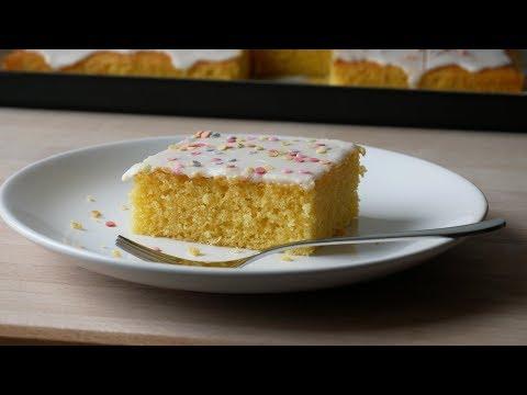 Fantakuchen Backen (Rezept) || Baking Fanta Cake (Recipe) || [ENG SUBS]