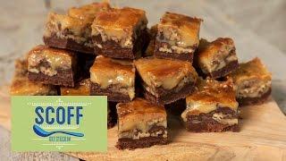 Salted Caramel And Chocolate Pecan Pie Bars | Keep Calm And Bake S10e1/8