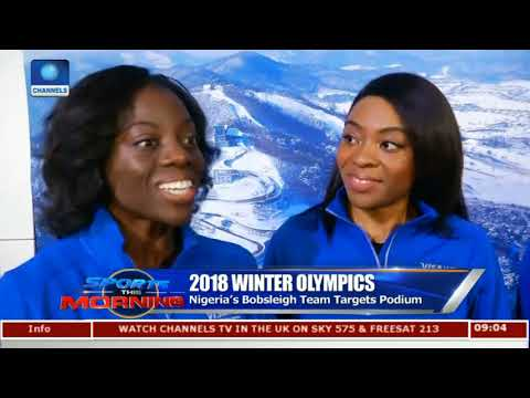 Nigeria's Bobsleigh Team Targets Podium |Sports This Morning|