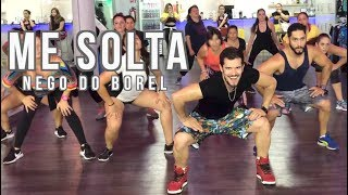 Me Solta - Nego Do Borel by Cesar James Zumba Cardio Extremo Cancun