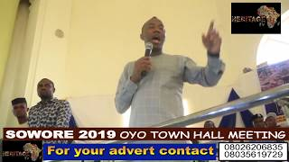 Gambar cover Sowore for Nigeria president 2019 (take it back)