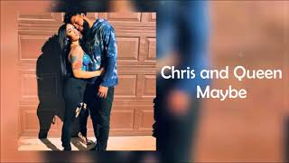 Download CHRIS AND QUEEN - MAYBE (Audio music ) MP3 song and Music Video