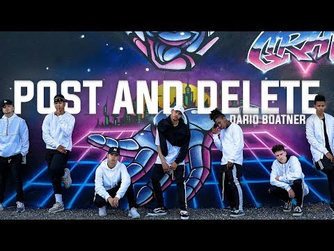 Zoey Dollaz - Post & Delete ft. Chris Brown - Choreography by Dario Boatner - Filmed by Rodney.S