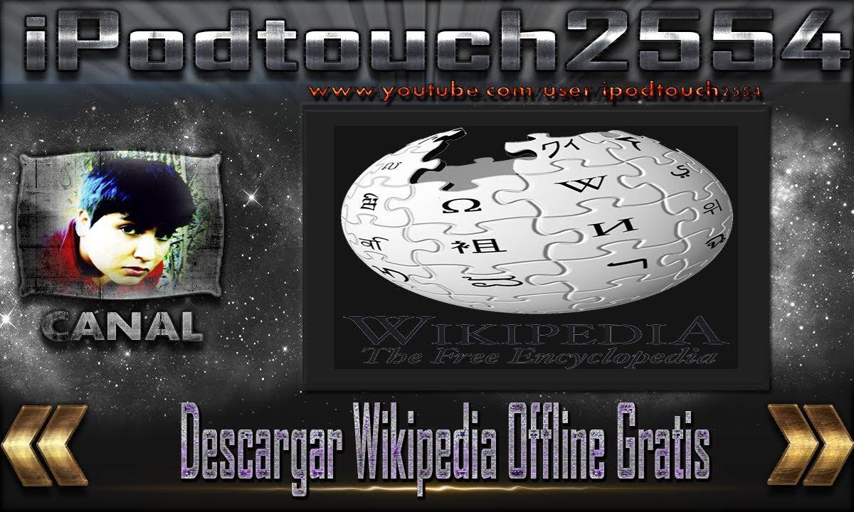 descargar wikipedia gratis sin internet