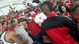 Peleas en los estadios COLOMBIA AMERICA DE CALI/BRS