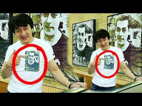 Jackie Chan Is A Big Fan Of Salman Khan