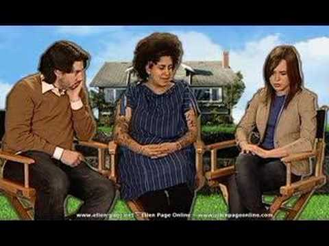 JUNO- ELLEN PAGE AND KIMYA DAWSON - interview