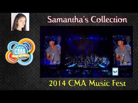 CMA Music Fest   Tim McGraw with Faith Hill    8 5 14