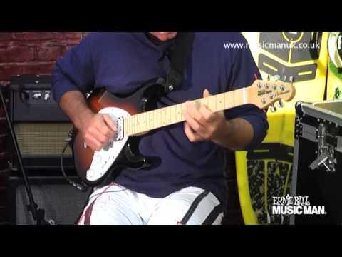 Ernie Ball Music Man - Silhouette Model - Demo by Brian Kellner