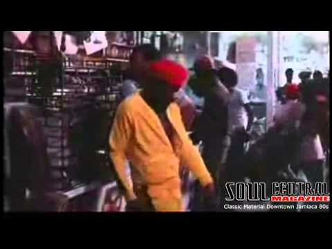 ROCKERS MOVIE DownTown Kingston Record Store in Jamaica 1980`s @Soulcentralmag