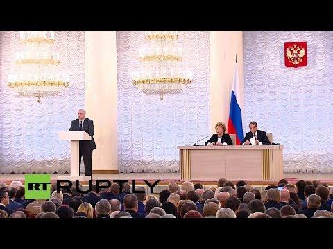LIVE: Federation Council and State Duma session
