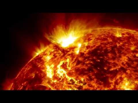 cận cảnh mặt trời hoạt động