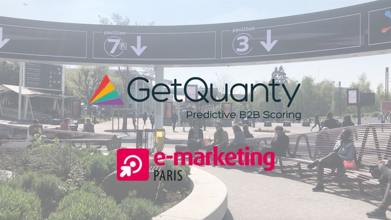 E Marketing Salon Getquanty Sandrine Mourao Allier Abm Marketing Automation Salon E Marketing Paris 2019
