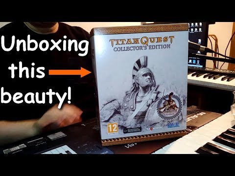 Titan Quest Collector's Edition PC Unboxing & Review