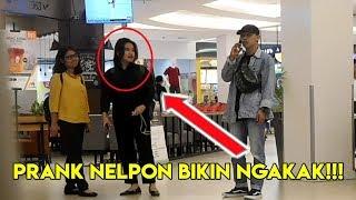 PRANK NELPON PURA-PURA MANGGIL ORANG!!! BIKIN NGAKAK PRANK INDONESIA...