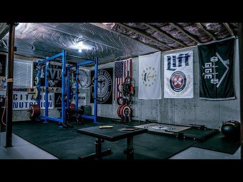 Home Gym Tour Spring 2018