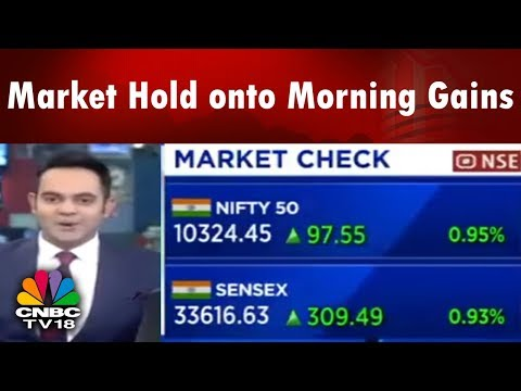 Halftime Report | Market Hold onto Morning Gains; IT Sector Shine | CNBC TV18