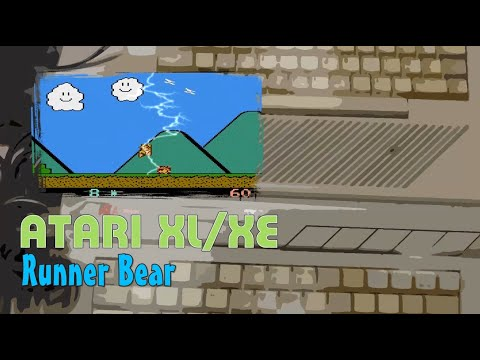 Atari XL/XE -=Runner Bear=-