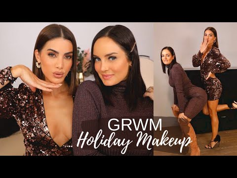 GRWM: HOLIDAY MAKEUP W/ CHLOE MORELLO! thumbnail