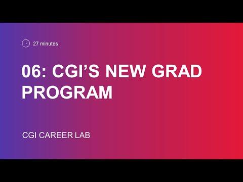 CGI's New Grad Program