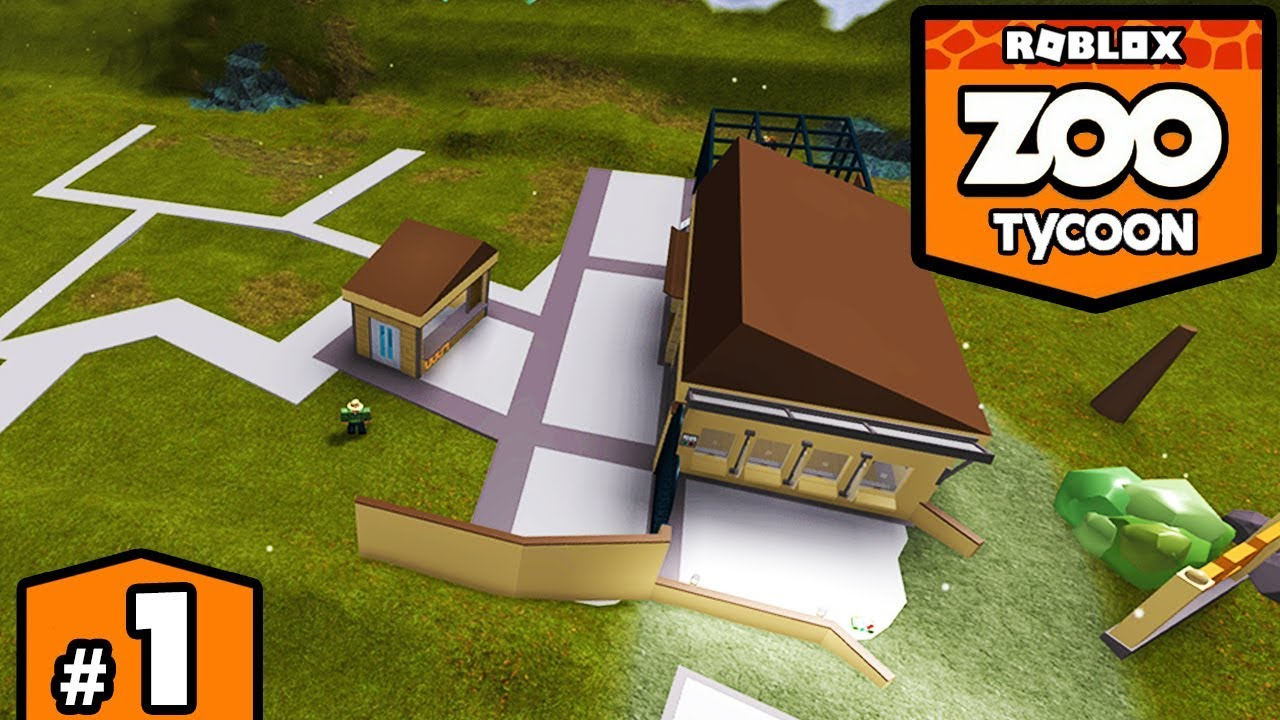 Download BUILDING A ZOO in ROBLOX - Zoo Tycoon #1