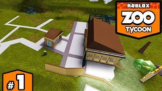 BUILDING A ZOO in ROBLOX - Zoo Tycoon #1