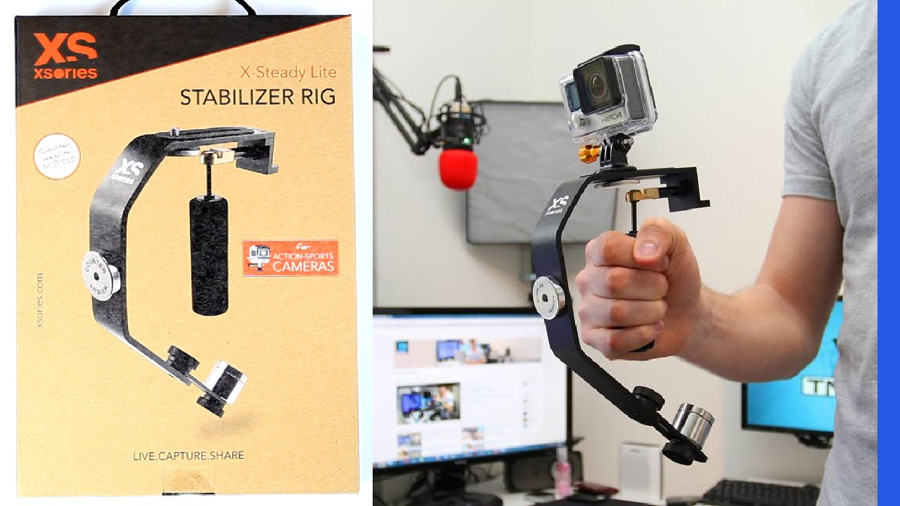 un mini stabilisateur pour cam ra xsteady lite youtube. Black Bedroom Furniture Sets. Home Design Ideas