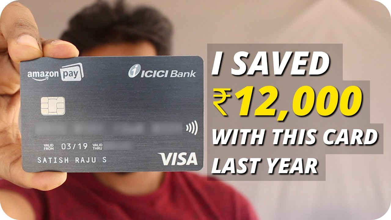 Amazon Pay ICICI credit card Earn rewards points while you shop