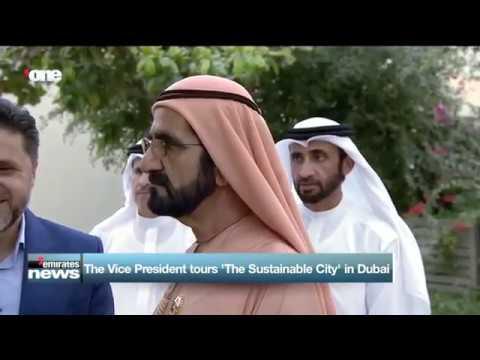 "HH Sheikh Mohammed bin Rashid visits ""Sustainable City"" in Dubai"