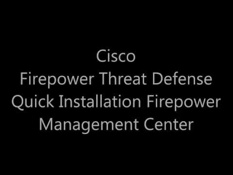 How to Deploy FirePOWER Management Center and FirePOWER