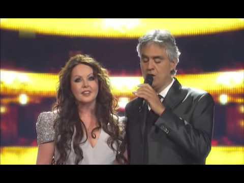 Sarah Brightman & Andrea Bocelli   Time To Say Goodbye Con Te Partirò 2013