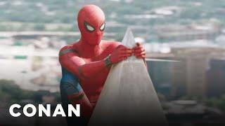 Spider-Man Is Going Through An Awkward Phase  - CONAN on TBS